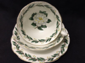 Royal Albert LADY CLARE tea trio -White roses